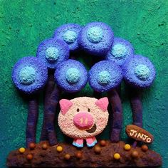 【jinjo_kazue】さんのInstagramをピンしています。 《 発泡スチロールアート #発泡スチロール #ブタ #アクリル絵の具 #イラスト #子豚 #丘の上で #お気に入りの場所 #花 #ラブ #アート #キャラクター #クラフト #ミニブタ #森 #art #styrene #pig #styrenefoam #flower #love #cute #animal #illustration #artwork #illustrator #flower #drowing #acrylpainting》