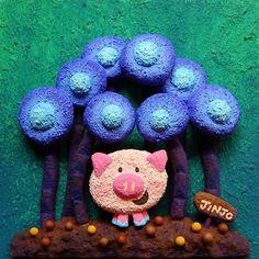 【jinjo_kazue】さんのInstagramをピンしています。 《🐖🐷🐽 発泡スチロールアート🎨 #発泡スチロール #ブタ #アクリル絵の具 #イラスト #子豚 #丘の上で #お気に入りの場所 #花 #ラブ #アート #キャラクター #クラフト #ミニブタ #森 #art #styrene #pig #styrenefoam #flower #love #cute #animal #illustration #artwork #illustrator #flower #drowing #acrylpainting》