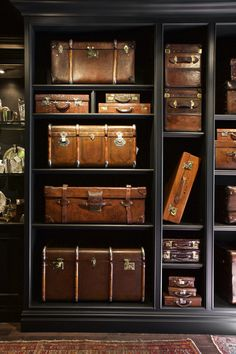Dorian Ward Trading Co., vintage suitcase collection