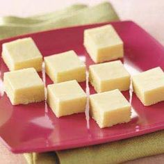 Lemon Fudge Recipe from Taste of Home -- shared by Rozie Born of Zumbrota, Minnesota