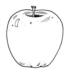 Apple Slices Colouring Pagesapple Coloring Pages