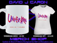 Official DJC Band Merchandise designed by David J Caron. Album/Single artwork as well as DJC Lyric designs. Over 80 different product designs available at davidjcaron. Requests welcome & considered ;