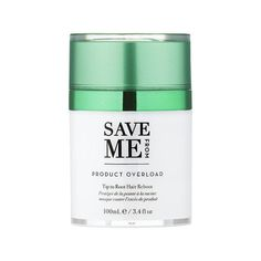 Details DETOX + PURIFY Heat protectors, volumizers, hair sprays, de-frizzers, dry shampoos - all these daily doses damage hair cuticles and leave them coated in chemical after chemical. This dual use hair mask and texturizing clay detoxifies an oily scalp and dull, stringy, greasy hair. SAVE ME FROM® Product Overload Tip to Root Hair Reboot™ is formulated to save your hair and scalp from damage caused by styling product and dry shampoo tip-to-root with our patent-pending Fenugen® technology and Oily Scalp, Oily Hair, Wet Hair, Overnight Hairstyles, Greasy Hair Hairstyles, Overnight Hair Mask, Benzoic Acid, Hair Thickening, Damaged Hair Repair