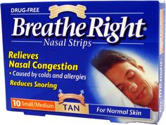 Beathe Right nasal strips - Top 5 products that will save your relationship