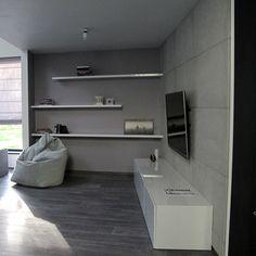concreAte - beton architektoniczny - płyty betonowe - płytki betonowe - ściana betonowa - imitacja betonu