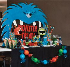 Monster Party Table Spread