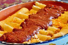 Red Chile Enchiladas with Mesquite-Smoked Tofu