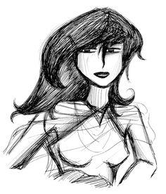 Nyrye, de Sué Giacoman Vargas.  Personaje de la novela de fantasía épica Ojos de Jade, de F. J. Sanz.  http://www.fjsanz.com