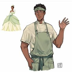 Today it's Tiana! I've been noticing some same face syndrome. Which is great my art style has never been consistent enough to have same… Disney Pixar, Disney Marvel, Disney Fan Art, Disney Au, Disney Boys, Disney Animation, Disney And Dreamworks, Gender Bent Disney, Disney Gender Swap