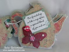 Mary Engelbreit Teapots | Mary Engelbreit Chipboard Teapot Book 2
