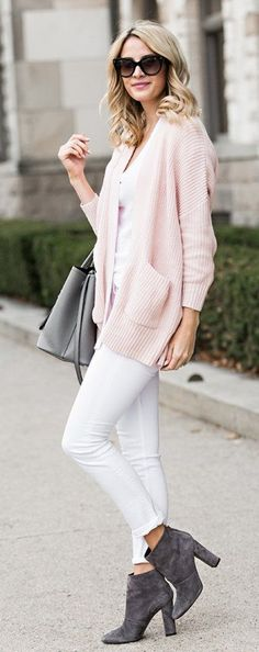 Such cute style Pink Outfits, Casual Outfits, Fashion Outfits, Casual Jeans, Style Fashion, Fashion Ideas, Spring Summer Fashion, Autumn Fashion, Spring Style