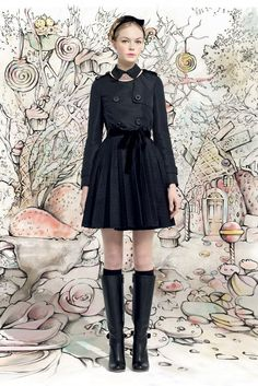 The Nancy Wilde Experience: Red Valentino AW 2013