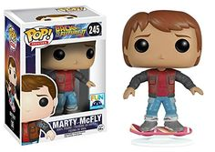 Funko Pop Movies Back To The Future 2 Marty McFly On Hoverboard Exclusive