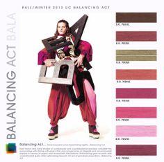 2014 Fashion Trends | Fall Winter 2013-2014 Color Fashion Trends / Colores Tendencia Otoño ...