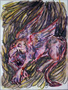 'Schlafender+Vogel+Greif+1'+von+funkyzoo+bei+artflakes.com+als+Poster+oder+Kunstdruck+$16.63