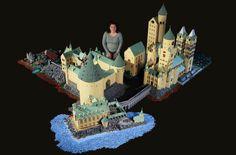 Alice Finch från Seattle har byggt hela Hogwarts från Harry Potter – helt i lego