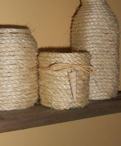 Rustic Beach Home Decor  Anything Jar  Candle by SeaFindDesigns, $12.00