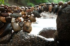 """Traditionally, stacks of rocks have acted both as memorial and as landmark. Known as """"cairns"""", piles of balanced rocks are used to mark hiking routes or to act as rough monuments. https://www.eg1g.com/blog/id_64/title_Rock-Balancing---Cairns-Today"""