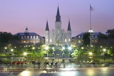 The Top 10 Places to See in the U.S.A: How Many Have You Visited?: New Orleans is still on my list. This reminds me of the Cinderella Castle from Disney!