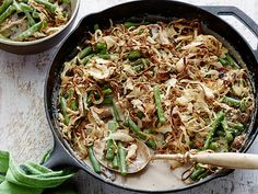 Get this all-star, easy-to-follow Best Ever Green Bean Casserole recipe from Alton Brown