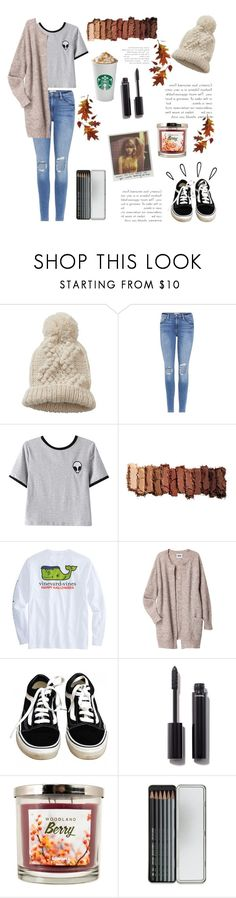 """Aliens & Starbucks"" by switchkid ❤ liked on Polyvore featuring Betty Barclay, Frame, Old Navy, Chicnova Fashion, Urban Decay, Acne Studios, Vans, Chanel, SONOMA Goods for Life and Caran d'Ache"