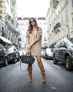55 Best Ideas Outfits for Short Women - Fashion and Lifestyle Fall Fashion Outfits, Fall Winter Outfits, Autumn Winter Fashion, Short Women Fashion, Womens Fashion, Winter Mode, Everyday Outfits, Clothes For Women, Brown Boots