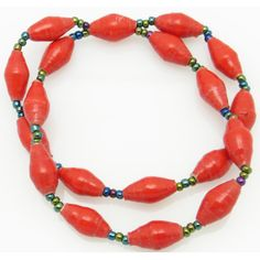 2-strand bracelet - red