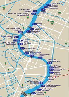 Prendre le bateau à Bangkok - Vivre en Thaïlande