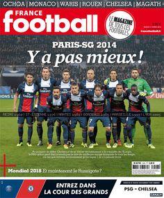 Affiche France Football Monaco, France Football, Chelsea, Rouen, Soccer, Sports, Movie Posters, Nantes, Marseille