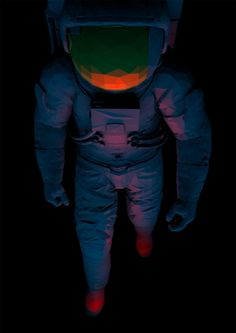 Low poly astronaut - Magictorch