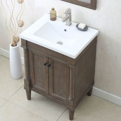 "You'll love the 24"" Single Bathroom Vanity Set at Wayfair - Great Deals on all Home Improvement products with Free Shipping on most stuff, even the big stuff."