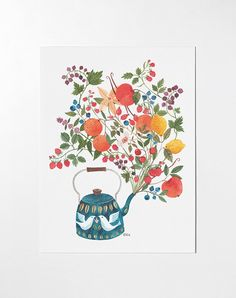 this is called A Teapot's Dream by Oana Befort, I want it hung in my room right now