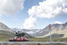 """Dacia 1310 """"Miorița""""a ajuns și în Kîrgîstan"""
