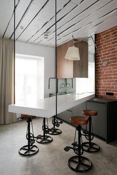 Офис архитектурного бюро Александры Фёдоровой | Rusdesigner | Дизайн Архитектура Интерьеры