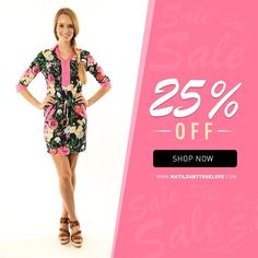 "Visit our Online Store. #Fashion #WomensClothingSale  Save now get a 25% discount using this promotion code ""SpSale25""  http://ift.tt/1QsYT4p http://ift.tt/1TVFQR3 http://ift.tt/1MDtyLA"