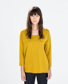 COTTON T-SHIRT Zara