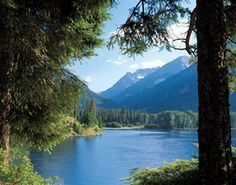 wallowa lake - joseph oregon, camp with deer by your side, take a gondola up to the summit of the wallowas & have lunch
