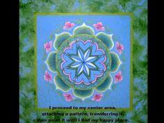 Mandala Monday - Making of a Mandala by Linda Phillippi - http://go.shr.lc/1PwEGcH