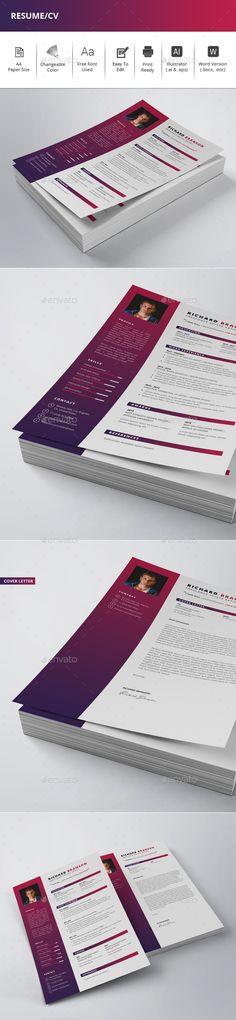 #Resume/CV - Resumes Stationery