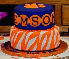 Clemson Cake! From the people at http://www.sprinklescakes.net/