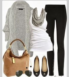 Fall outfit for work or play Maybe with a more colorful scarf #moda #fashion #trendy #navidad