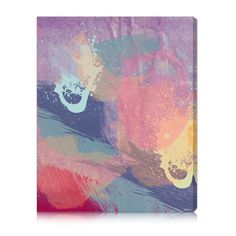 Oliver Gal 'Lavender Mist' Canvas Art Print