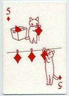 Signs to Look for When Choosing a Tarot Reader Cat Cards, Illustrator, Wall Collage, Cute Art, Art Inspo, Art Drawings, Illustration Art, Girl Illustrations, Artsy