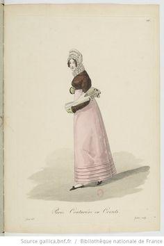 Costumes d'ouvrières parisiennes / par Gatine - 30 Corsetiere