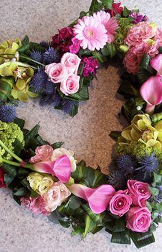 Funeral flower heart   Eden Florist