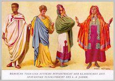 Abbigliamento antichi romani   Ogni epoca ha avuto i suoi momenti di splendore, le sue usanze i sui costumi, governi, amministrazione pubblica, modo di abbigliarsi e di nutrirsi. Anche i