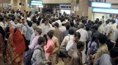KARACHI:  Relatives of passengers gather at Airport after heard the news of Bhoja Airline crashed in Hussainabad village, about three kilometres (two miles) from the Islamabad Express Highway. Up to 130 people are feared dead after a Boeing 737 crashed while trying to land in bad weather, officials said.