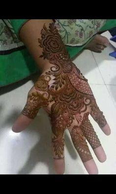 New Henna Designs, Mehndi Designs Book, Modern Mehndi Designs, Mehndi Designs For Girls, Wedding Mehndi Designs, Beautiful Henna Designs, Khafif Mehndi Design, Mehndi Design Pictures, Dulhan Mehndi Designs