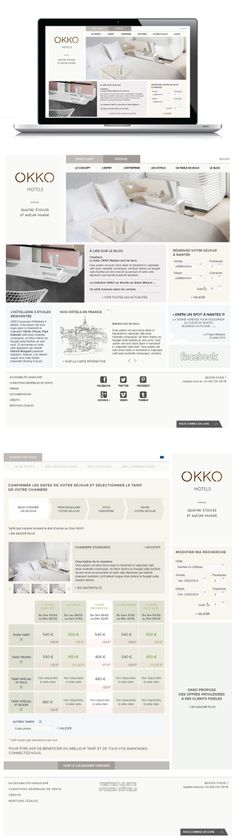 OKKO hotels - Site internet