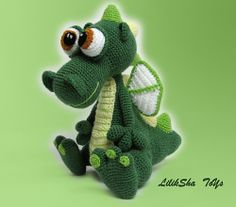 Ravelry: Dragon pattern by Lilia Shaevitch
